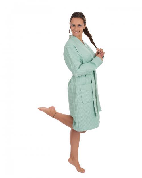 WeWo Fashion Unisex Piqué Kimono